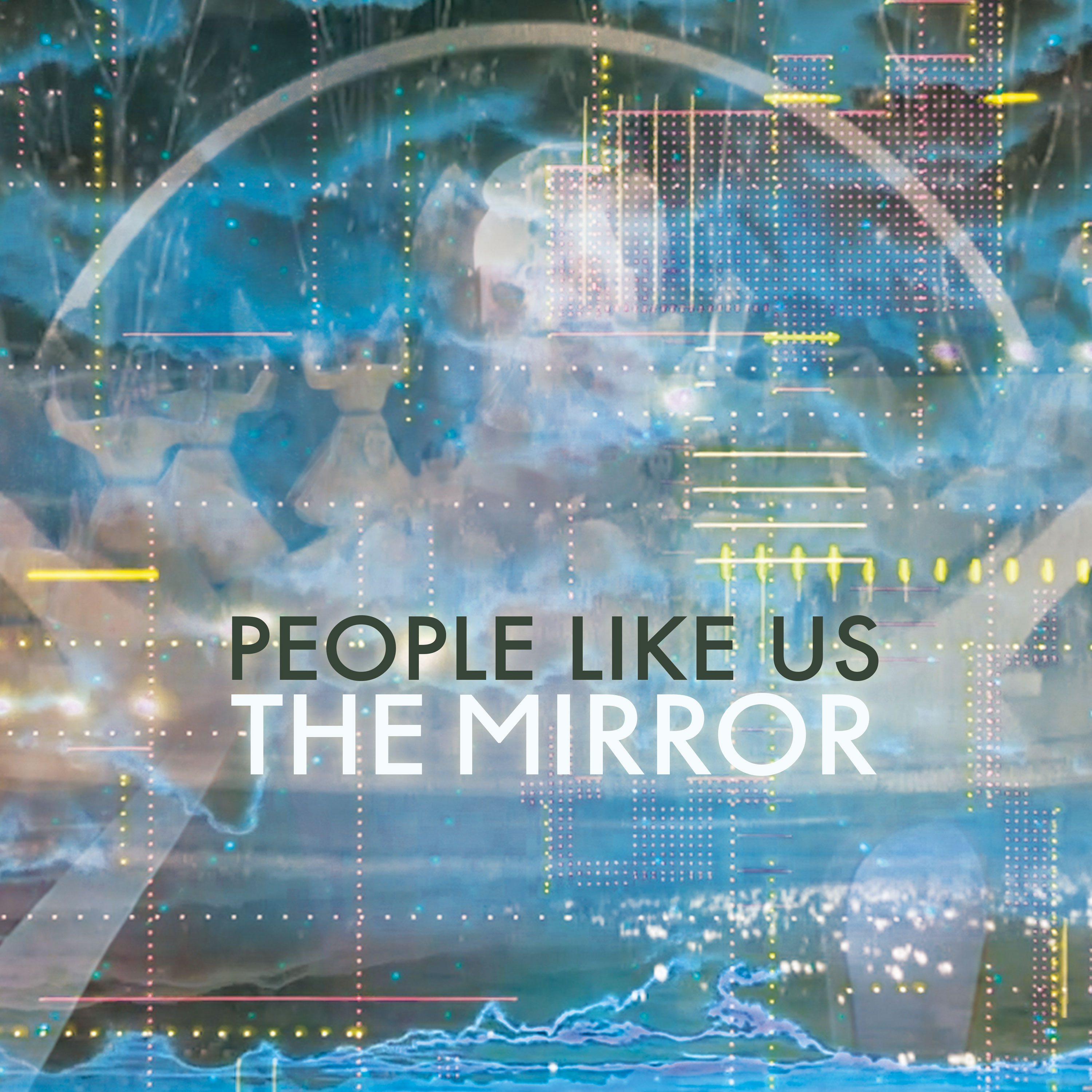 "Cover art for the People Like Us album ""The Mirror"", by Vicki Bennet."