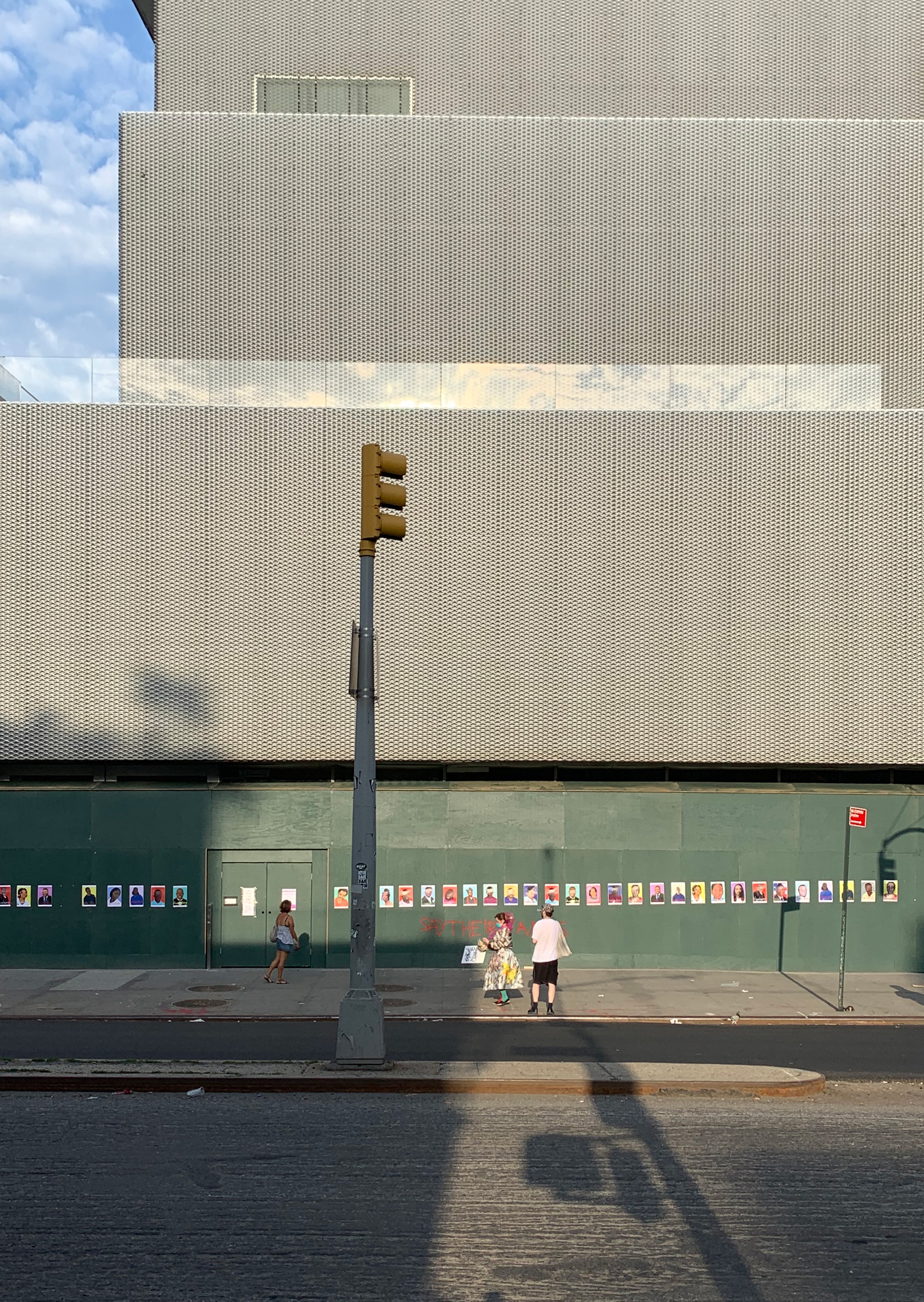 New Museum, Lower East Side, Manhattan, New York City, June 10, 2020. © Lucie Rebeyrol